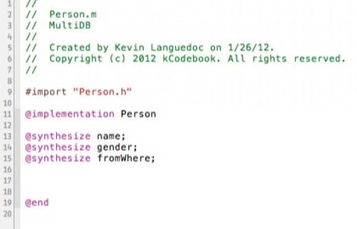 Person implementation