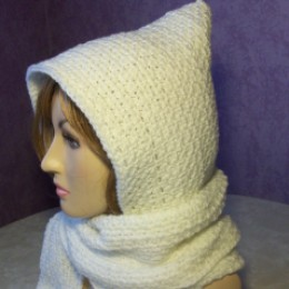 Beginner Hooded Scarf