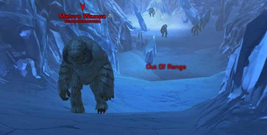 SWTOR Scouring the Wastes of Hoth - typical scenery on Hoth