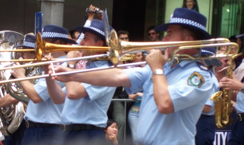 The tromobone is played in symphony orchestras, military and brass bands, in jazz and occasionally in pop groups.
