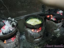 Special clay pot ovens used to make bibingka.