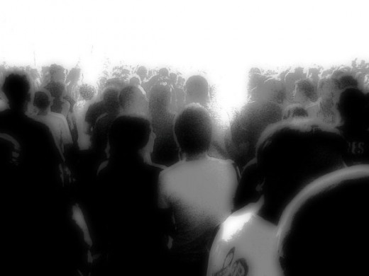 (I do not own this photo.) People waiting in line in purgatory. will there number ever be called?