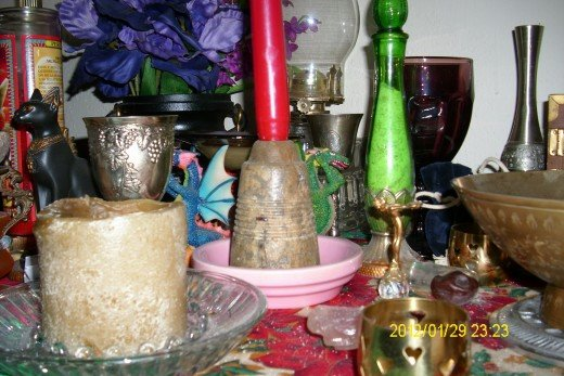 Soapstone Candle Holder - Antique - From and eBay estate auction.