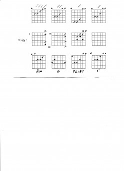 Flamenco Chord Sequence
