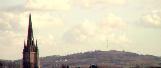 Mont-des-Cats, seen from Steenvoorde, France