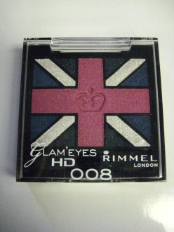 Rimmel London Glam'Eyes HD Eyeshadow Quads