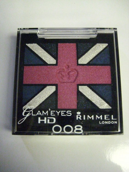 Rimmel Glam'Eyes HD Quad in 008 True Union Jack