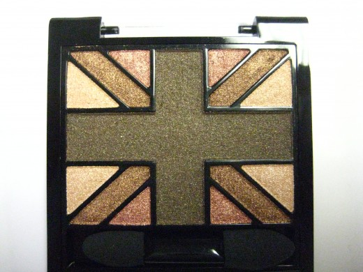 Rimmel Glam'Eyes HD Eye Shadow Quad in 002 English Oak