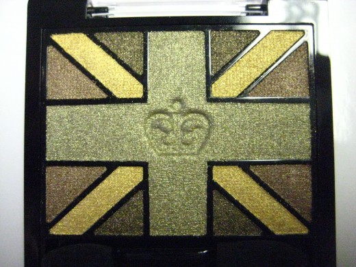 Rimmel Glam'Eyes HD Eyeshadow Quad in 004 Green Park