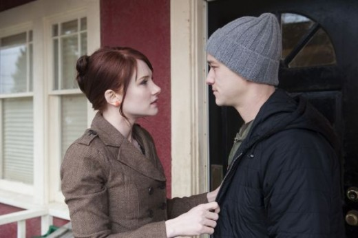 Bryce Dallas Howard as Rachel and Joseph Gordon Levitt as Adam