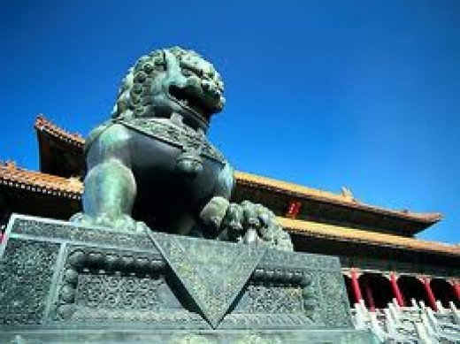 The Chinese imperial majesty
