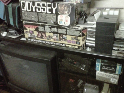 My Odyssey 1 and 2 and some random stuff.