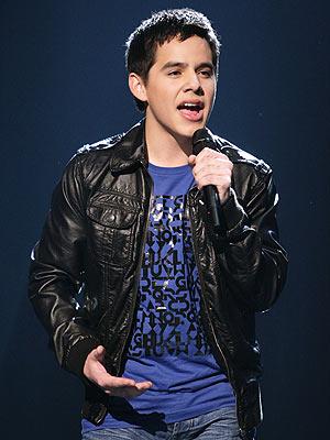 David Archuleta - singer/songwriter