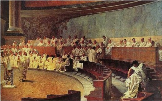 Roman Senate by Maccari
