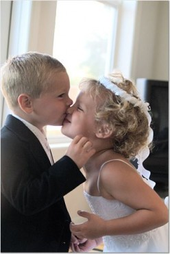 Children can add a youthful, spirited touch to a wedding ceremony