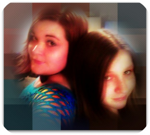 My sister and I for our S1573RZ album cover