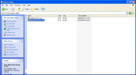 Go to and open your Download folder for the Addon.  Seclect the Addon you want to edit