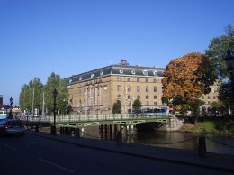 The post office at Drottningtorget, Gothenburg