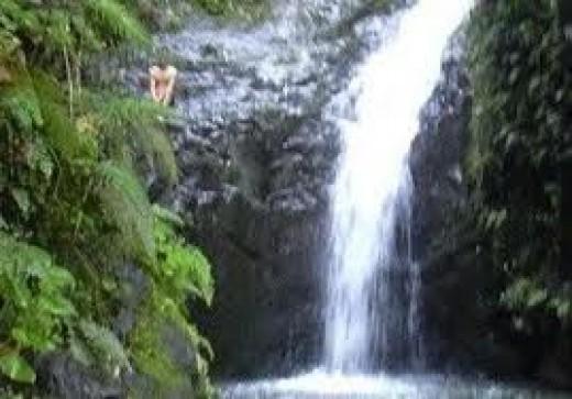 A classic shot of Maunawili Falls, Windward Oahu