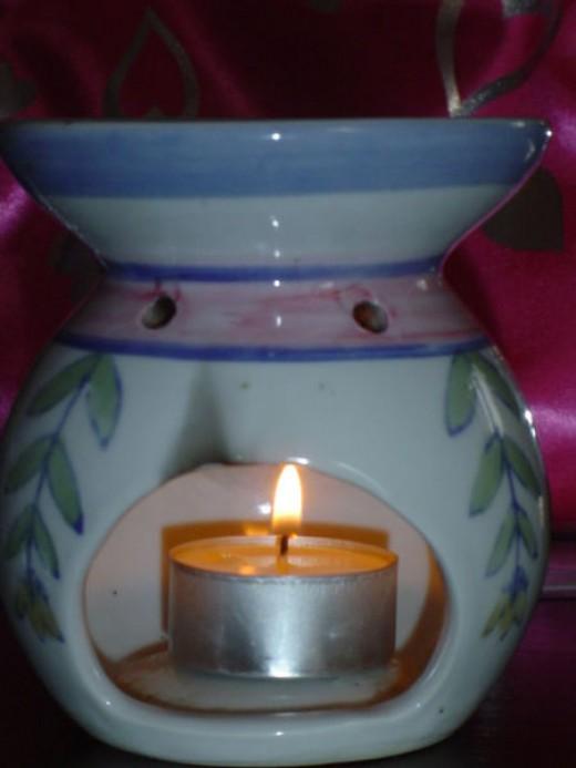 Aromatherapy is believed to decrease anxiety and instill a sense of calm in patients.