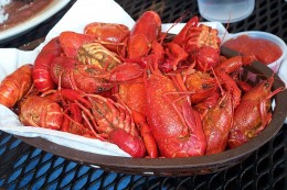 US Crawfish are safe and delicious
