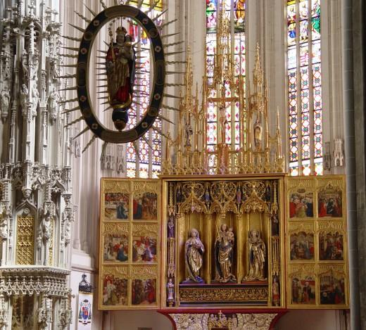 St. Elisabeth Cathedral altar