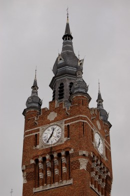Town Hall and Belfry, Armentières, France