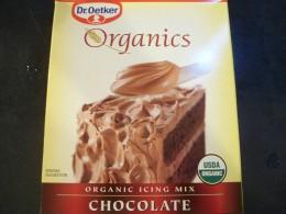 Organic Chocolate Icing Mix
