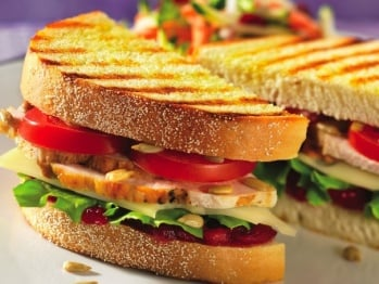 Paninis can be slim or thick like this version.