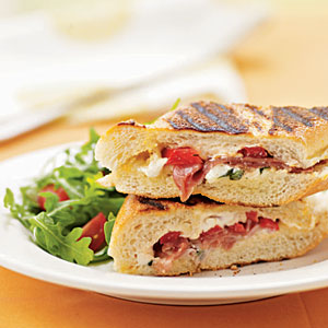Paninis can be made to enjoyed by a wide variety of taste buds.