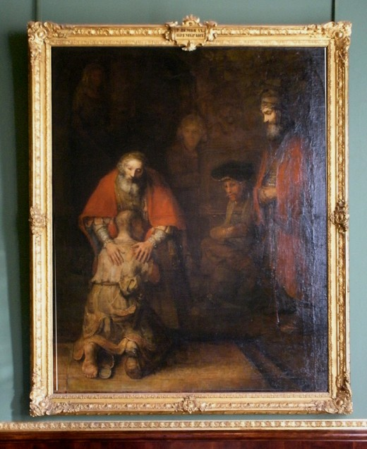 The Prodigal Son - Rembrandt
