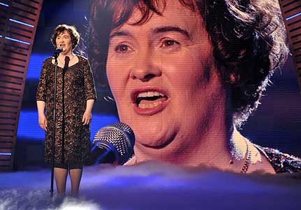 Unexpected star: Susan Boyle sings on Britain's Got Talent in 2012