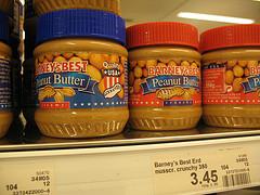 peanut butter jars