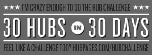 25th Hub in the 30/30 hub challenge