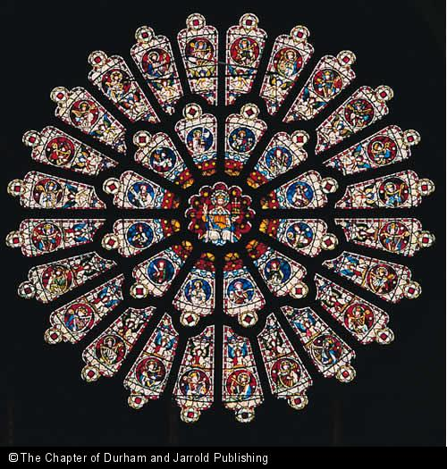 Durham Cathedral, Rose window.