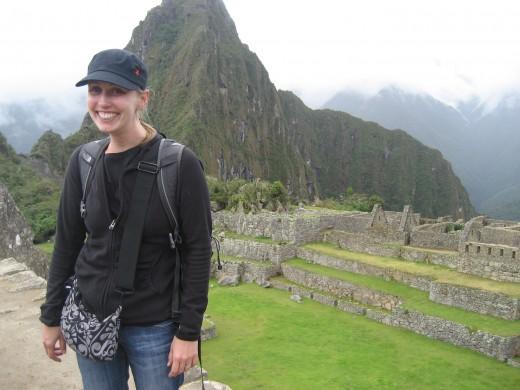 Me in Machu Picchu, NOT SICK