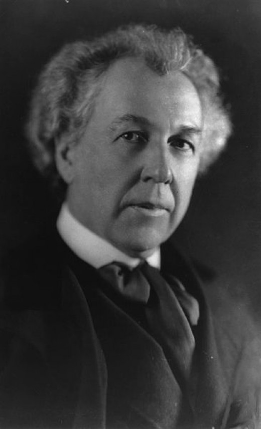 American architect, Frank Lloyd Wright.