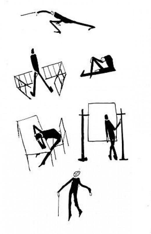 Drawings by Kafka