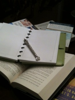 Stop procrastinating - pick up the pen and write!