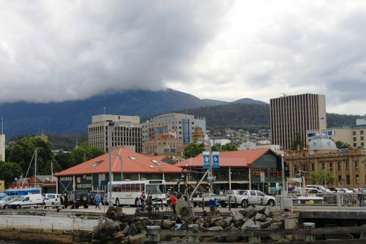 Hobart, Tasmania. Copyright 2011, Bill Yovino