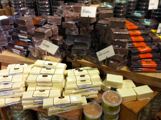 Chocolate--always a good addition!