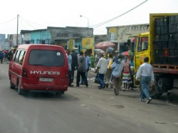 Street in Kinshasa
