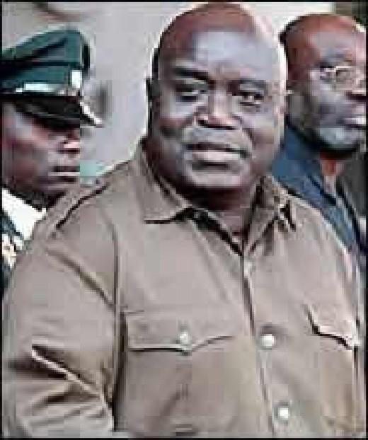 Laurent Kabila, who with Rwandan backing took power from Mobutu