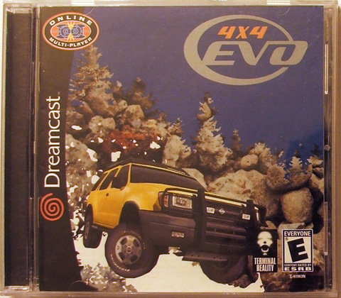 4x4 Evo cover NTSC