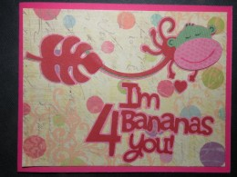Bananas for You Cricut card