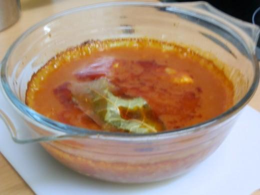 pork in tomato sauce casserole