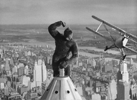 King Kong  1933  King Kong Empire State Building With Girl