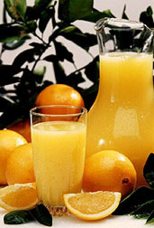 Drink Orange Juice when quitting smoking.