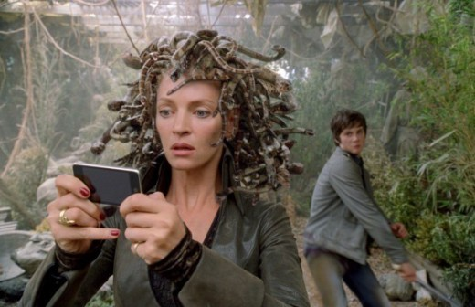 Uma Thurman as Medusa in Percy Jackson and the Lightning Thief
