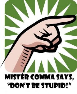 The Comma - Grammar Errors